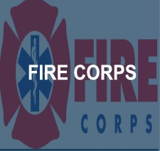 Fire Corps Button