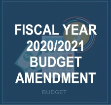 FY 21 Budget Amendment